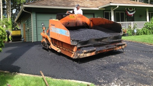 Port Orchard asphalt driveway pavement installation